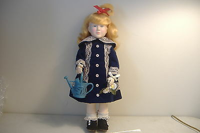 ~A Girl With A Watering Can~1981 Effanbee Limited Edition Doll~With Certificate~