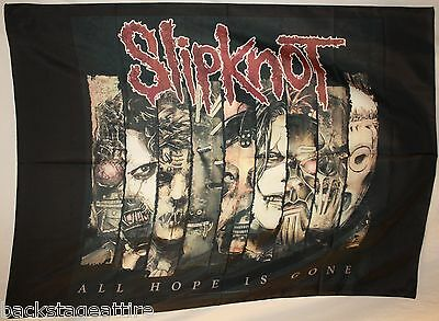 SLIPKNOT All Hope Is Gone Fractions Cloth Fabric Poster Flag Art Paul Gray-New