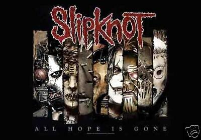 "SLIPKNOT All Hope Is Gone Fractions 29""X43"" Cloth Fabric Poster Wall Flag-New!"