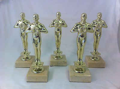5 x 178mm Achievement Oscar,Hollywood Party,Prom Trophy,Award,FREE engraving