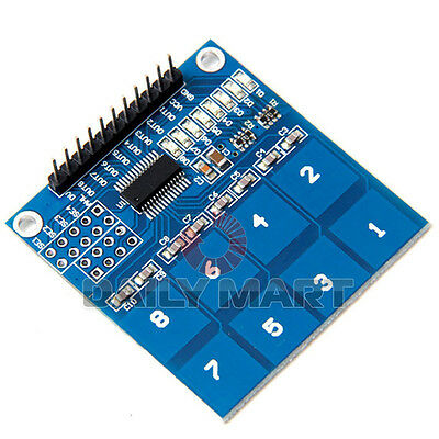 TTP226 8 Channel Digital Touch Sensor Module Capacitive Touch Switch