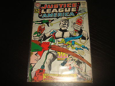 JUSTICE LEAGUE OF AMERICA #15 Silver Age  DC Comics 1962 VG+
