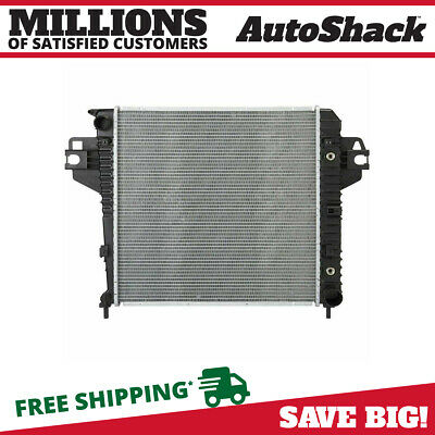 New Direct Fit Complete Aluminum Radiator 3.7L SOHC V6 fits 02-06 Jeep Liberty