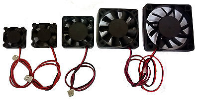 3D Printer 24v Cooling Fan - 25mm 30mm 40mm 50mm 60mm - Extruder Fan - RepRap