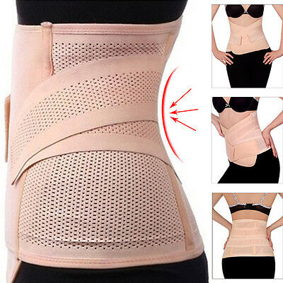 Postpartum Recovery Belt Body Shaper Slimming Waist Tummy Lose Weight Band New