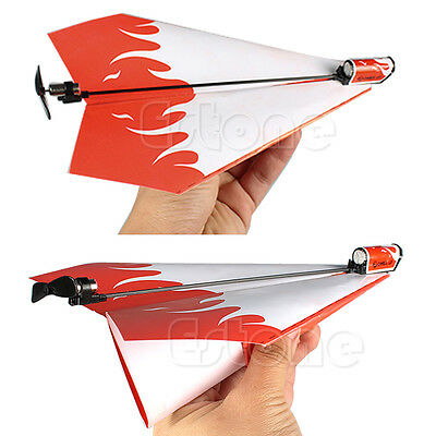 Hot Paper Airplane Kids Gifts Flying Toys Electric-powered Propeller Module