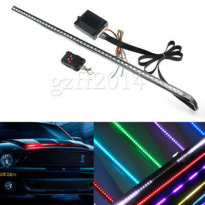 "24"" 48-LED 7-Color LED Knight Rider Scanner Lighting Strip Kit w/ Remote Control"