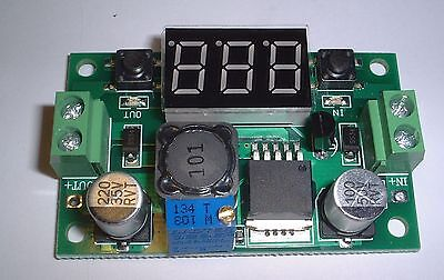 Step Down Adjustable Power Supply Module with display 1.5V-35V out UK Stock