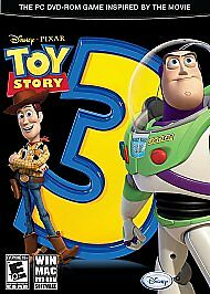 Toy Story 3: The Video Game  (PC/MAC, 2010) COMPLETE LN