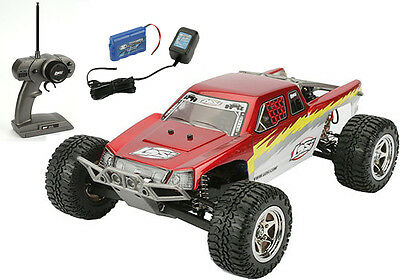 Losi 1/18 Mini-Desert Truck RTR Red w/ Radio Battery & Charger LOSB0202T1