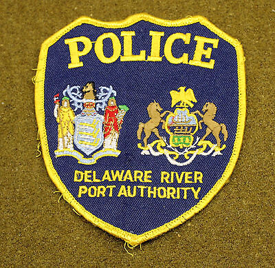 31503) Patch Police Delaware River Department Sheriff Law Enforcement Insignia