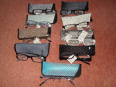+2.5 Ladies Reading Glasses Readers Specs With Case Various Designs