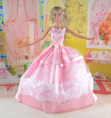 New Handmade Party Clothes Fashion Dress for Noble Doll  #y68