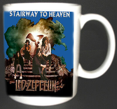 Led Zeppelin Stairway To Heaven Album Design Mug Limited Edition Top New Design