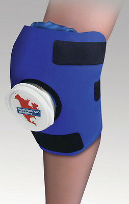 Adjustable Knee Wrap Ice Pack Cold Therapy Therapeutic Sore Compression Swelling