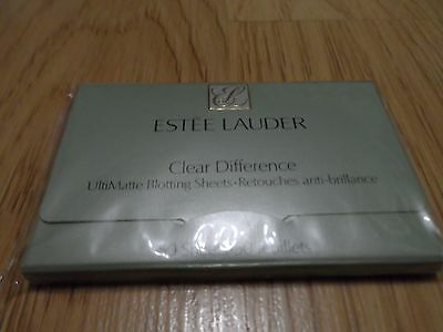 Estee Lauder Clear Difference Ultimatte Blotting Sheets 30 Sheets For Oily Skin