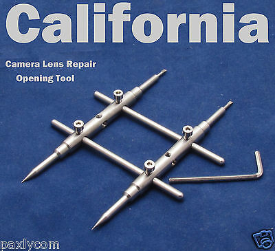 Pro DSLR Lens Spanner Wrench Opening Tool Camera Repair open Tools 15 to 100mm
