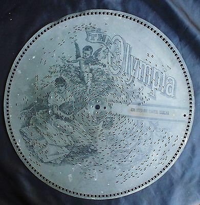 1800'S OLYMPIA MUSIC BOX DISC - NO 4396