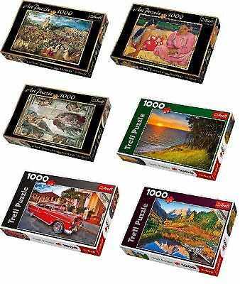 Trefl 1000 Pieces Family Art Jigsaw Puzzle Board Game
