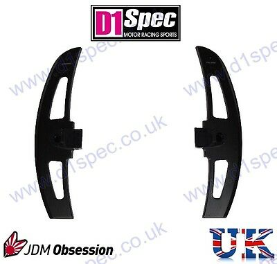 D1 Spec Extended Black Aluminium Paddle Shift For Bmw M3 Smg E46 Racing F1 Style