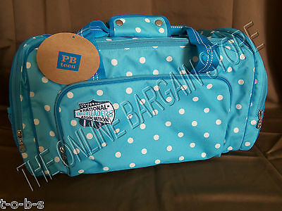 Pottery Barn Teen Kid NCA Varsity Cheerleading Cheer Duffle Gym Sport Bag Dottie