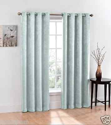 Regal Home Heavy Weight Chevron Hotel Blackout Curtain Panels - Assorted Colors
