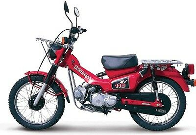 Honda Ct90 Ct110 Postie Bikes Workshop Service Manuals +