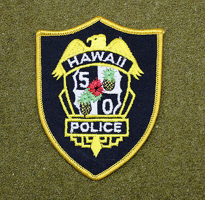 31564) Patch Hawaii Police Department Sheriff Law Enforcement