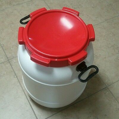 HDPE Plastic Emergency 13 Gallon Barrel Food Grade BPE free