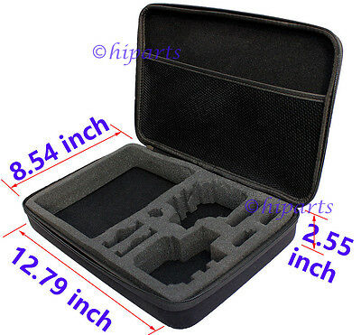 Large Shockproof Carry Protective Bag Case For GoPro Hero4 3+ 3 2 1 Accessories