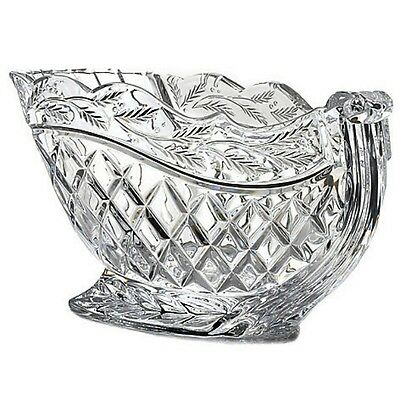 """Marquis by Waterford 5.5"""" Crystal Centerpiece Holiday Sleigh NEW IN THE BOX"""