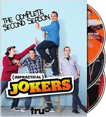 Impractical Jokers: The Complete Second Season DVD