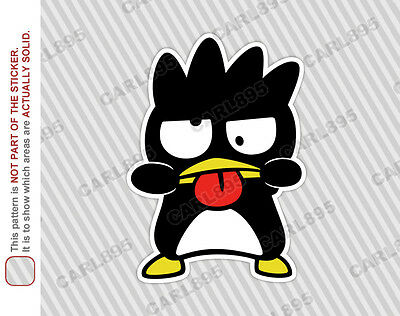 Hello Kitty Badtz Maru (A) Car Truck SUV Vinyl Bumper Sticker