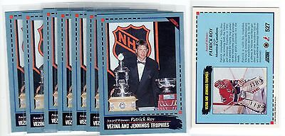 1X PATRICK ROY 1992 93 Score #527 BLUE NMMT Lots Available Avalanche Canadiens