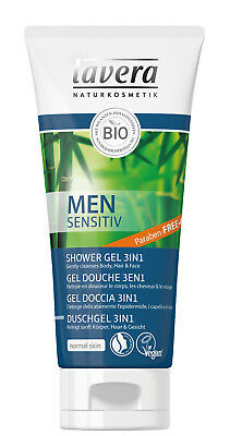 Lavera Men Organic 3 in 1 Shower Shampoo 200ml FREE P&P
