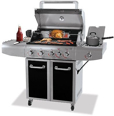 Uniflame UNIFLAME GOLD DELUXE OUTDOOR LP GAS BARBECUE GRILL GBC1273SP NEW