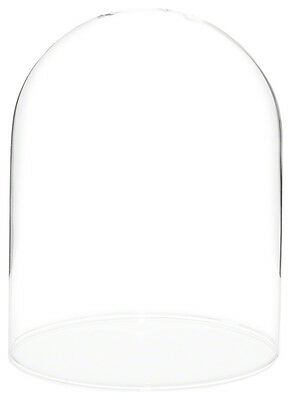 "Plymor Brand 4.5"" x 6"" Glass Display Dome Cloche (no Base)"