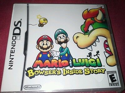 NINTENDO For OLD DS/DS LITE ONLY!!! Mario & Luigi Bowser's Inside Story GAME NEW