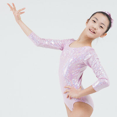 Annie's Gymnastics leotard Holographic 4way Nylon child adult span LSL3019G