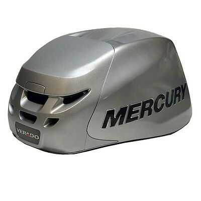 Mercury Verado Quicksilver Silver Boat Engine / Motor Top Cowling (Old Style)
