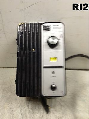 Bodine Electric Filtered SCR DC Motor Nema12 Speed Control FPM Model 835