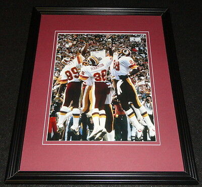 Washington Redskins The Fun Bunch Framed 8x10 Photo Poster
