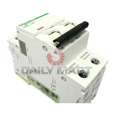 Brand New Schneider IC65N 2P C6A Air Circuit Breaker Switch Miniature up to 63A