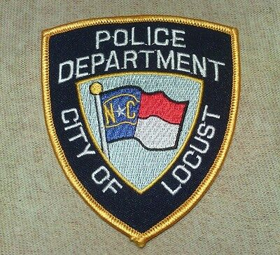 NC City of Locust North Carolina Police Patch