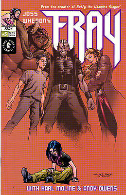 FRAY #5 - Joss Whedon -  Back Issue