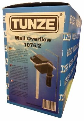 Tunze 1076/2 Tank Wall Overflow Box Marine Aquarium Reef Weir Sump Drain Hole