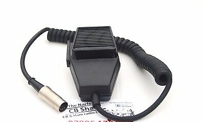 CB Radio mic Microphone 5 Pin DIN for Older Midland Maxcom Cobra Colt