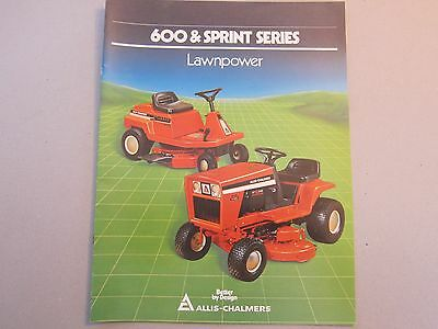 allis chalmers model 616 special operators owners manual lawn garden Allis Chalmers WD45 Wiring-Diagram allis chalmers 616 611 608 lawn \u0026 garden tractor dealer sales brochure manual