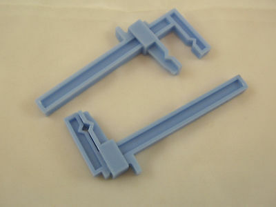 Plastic Clamp -- small tools for model miniatures hobby 2pcs 12333