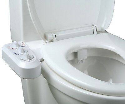 Jumbl Self Cleaning Hot and Cold Water Bidet - Dual Nozzle (Male & Female)